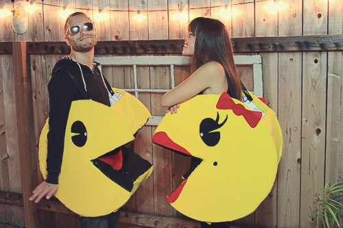 Mr. & Mrs. Pacman Costume