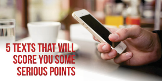 text message to score you points