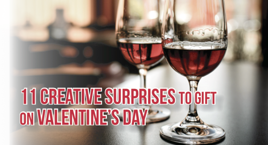 11 creative surprises to gift on valentine's day