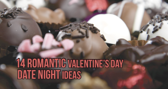 12 Romantic Valentine's Day Date Night Ideas!